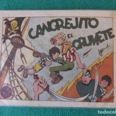 Tebeos: CANGREJITO EL GRUMETE INFANTIL DE LAS GRADES AVENTURAS HISPANO AMERICANA. Lote 120393383