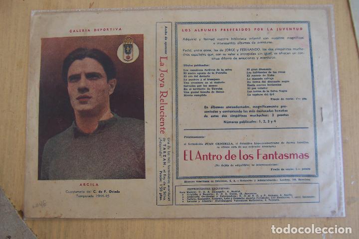 Tebeos: hispano americana,- a.p.j. jorge y fernando nº 46 el aviador fantasma - Foto 2 - 120679691