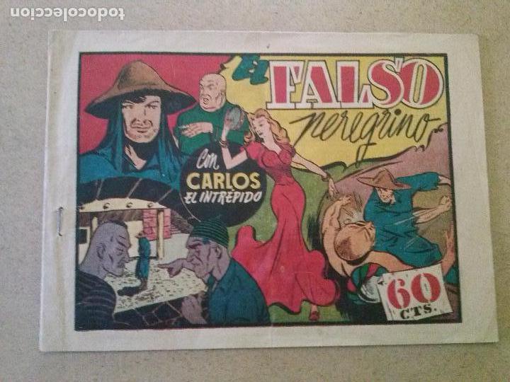 EL FALSO PEREGRINO ,CARLOS EL INTREPIDO Nº 35-HISPANO AMERICANA -T (Tebeos y Comics - Hispano Americana - Carlos el Intrépido)