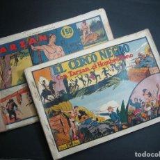 Tebeos: TARZAN (1942, HISPANO AMERICANA) LOTE : 1 AL 20. Lote 110573395