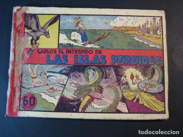 Tebeos: CARLOS EL INTREPIDO (1942, HISPANO AMERICANA). LOTE Nº : 1 AL 18 - Foto 2 - 120827763