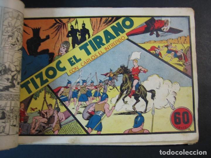 Tebeos: CARLOS EL INTREPIDO (1942, HISPANO AMERICANA). LOTE Nº : 1 AL 18 - Foto 4 - 120827763