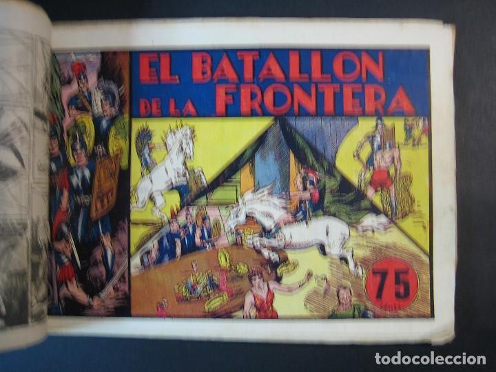 Tebeos: CARLOS EL INTREPIDO (1942, HISPANO AMERICANA). LOTE Nº : 1 AL 18 - Foto 6 - 120827763