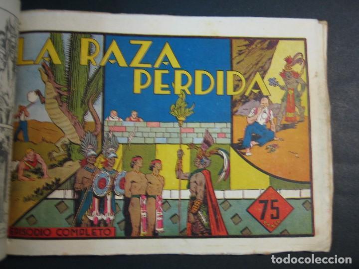 Tebeos: CARLOS EL INTREPIDO (1942, HISPANO AMERICANA). LOTE Nº : 1 AL 18 - Foto 8 - 120827763