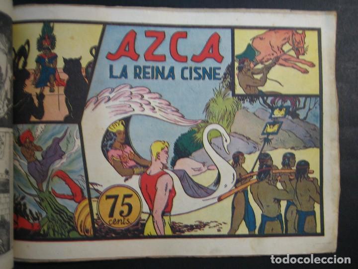 Tebeos: CARLOS EL INTREPIDO (1942, HISPANO AMERICANA). LOTE Nº : 1 AL 18 - Foto 9 - 120827763