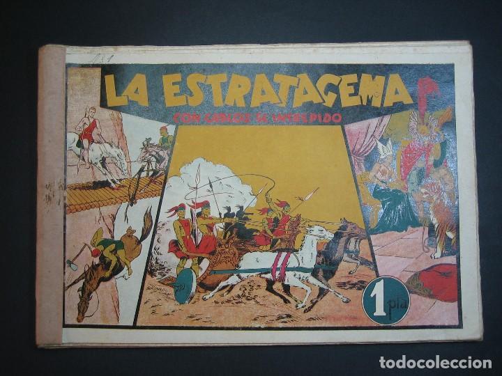 Tebeos: CARLOS EL INTREPIDO (1942, HISPANO AMERICANA). LOTE Nº : 1 AL 18 - Foto 11 - 120827763