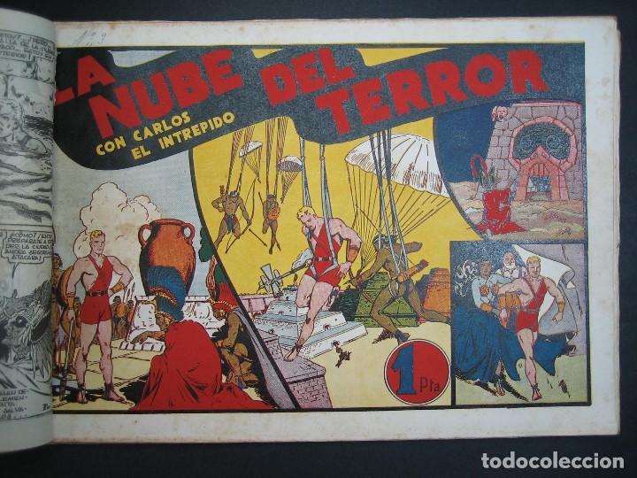 Tebeos: CARLOS EL INTREPIDO (1942, HISPANO AMERICANA). LOTE Nº : 1 AL 18 - Foto 12 - 120827763