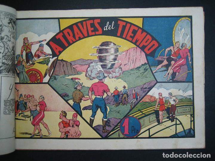 Tebeos: CARLOS EL INTREPIDO (1942, HISPANO AMERICANA). LOTE Nº : 1 AL 18 - Foto 13 - 120827763
