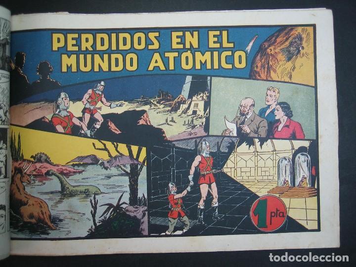 Tebeos: CARLOS EL INTREPIDO (1942, HISPANO AMERICANA). LOTE Nº : 1 AL 18 - Foto 16 - 120827763