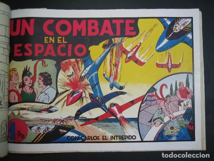 Tebeos: CARLOS EL INTREPIDO (1942, HISPANO AMERICANA). LOTE Nº : 1 AL 18 - Foto 17 - 120827763