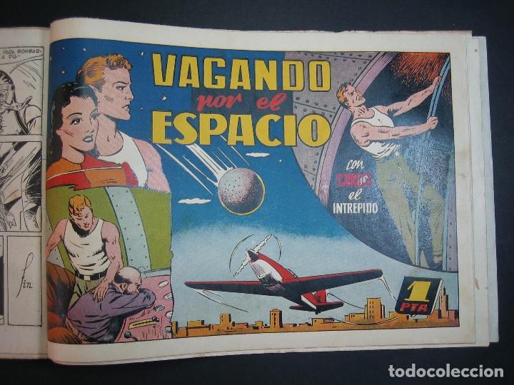 Tebeos: CARLOS EL INTREPIDO (1942, HISPANO AMERICANA). LOTE Nº : 1 AL 18 - Foto 18 - 120827763