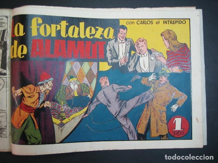 Tebeos: CARLOS EL INTREPIDO (1942, HISPANO AMERICANA). LOTE Nº : 1 AL 18 - Foto 19 - 120827763