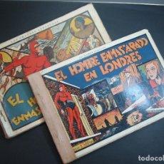 Tebeos: EL HOMBRE ENMASCARADO (1941, HISPANO AMERICANA). LOTE Nº : 1 AL 20. Lote 110645387