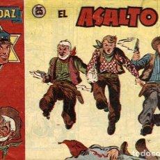 Tebeos: AUDAZ-25 (HISPANO AMERICANA, 1949) DE ROY D'AMI. Lote 120887019