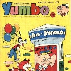 Tebeos: YUMBO-375 (HISPANO AMERICANA, 1960). Lote 121079975