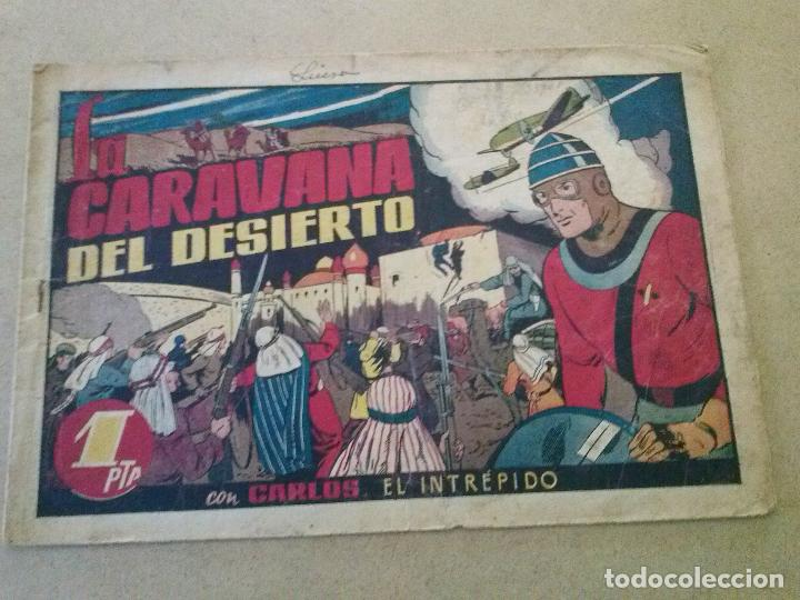 CARLOS EL INTREPIDO Nº 24 -LA CARAVANA DEL DESIERTO.HISPANO AMERICANA (Tebeos y Comics - Hispano Americana - Carlos el Intrépido)