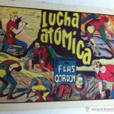 Tebeos: FLAS GORDON - LUCHA ATÓMICA -MUY BIEN - IMPERCEPTIBLE REPARACIÓN ARRIBA DERECHA. Lote 121460659