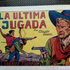 Tebeos: COMIC EL SHERIFF THOMPSON Nº 7 - HISP. AMER. DE EDIC.1944 - ORIGINAL ( M-2). Lote 121647171