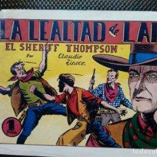 Tebeos: COMIC EL SHERIFF THOMPSON Nº 4 - HISP. AMER. DE EDIC.1944 - ORIGINAL ( M-2). Lote 121648775