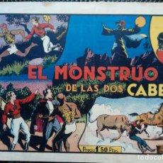 Tebeos: COMIC EL MONSTRUO DE LAS DOS CABEZAS - HISPA. AMERC. DE EDIC.1944 - ORIGINAL ( M-2). Lote 121654419