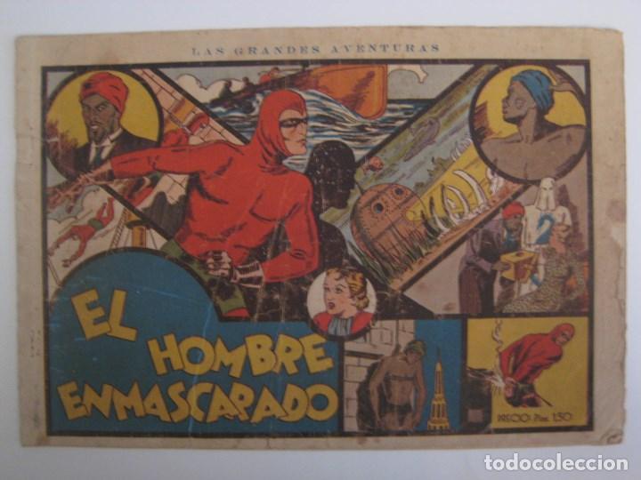 HISPANO AMERICANA - EL HOMBRE ENMASCARADO. LOTE DE 82 EJEMPLARES (GRAN FORMATO). AÑO 1941 (Comics - Hispano Americana - Hombre Enmascarado)