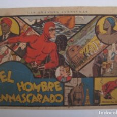 Tebeos: HISPANO AMERICANA - EL HOMBRE ENMASCARADO. LOTE DE 82 EJEMPLARES (GRAN FORMATO). AÑO 1941. Lote 121658267