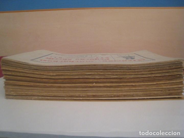 Comics: HISPANO AMERICANA - EL HOMBRE ENMASCARADO. LOTE DE 82 EJEMPLARES (GRAN FORMATO). AÑO 1941 - Foto 3 - 121658267