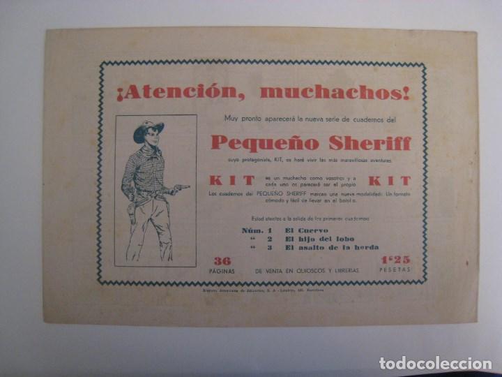 Comics: HISPANO AMERICANA - EL HOMBRE ENMASCARADO. LOTE DE 82 EJEMPLARES (GRAN FORMATO). AÑO 1941 - Foto 7 - 121658267