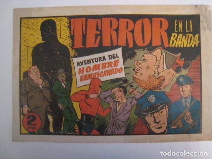 Comics: HISPANO AMERICANA - EL HOMBRE ENMASCARADO. LOTE DE 82 EJEMPLARES (GRAN FORMATO). AÑO 1941 - Foto 8 - 121658267