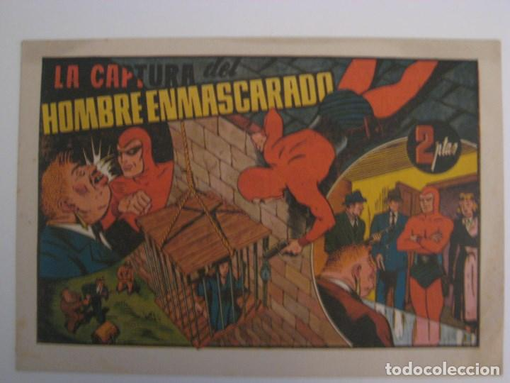 Comics: HISPANO AMERICANA - EL HOMBRE ENMASCARADO. LOTE DE 82 EJEMPLARES (GRAN FORMATO). AÑO 1941 - Foto 10 - 121658267