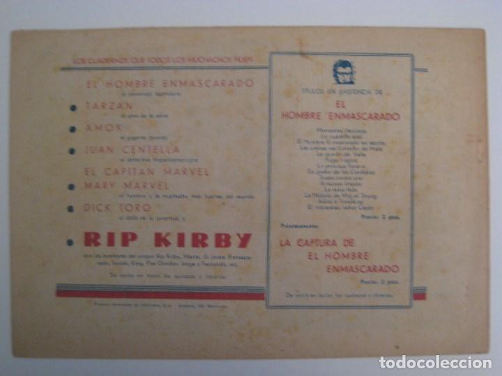 Comics: HISPANO AMERICANA - EL HOMBRE ENMASCARADO. LOTE DE 82 EJEMPLARES (GRAN FORMATO). AÑO 1941 - Foto 11 - 121658267