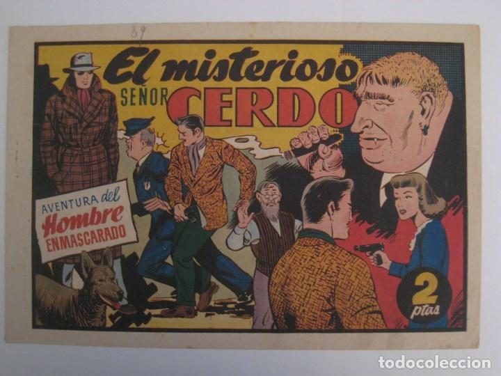 Comics: HISPANO AMERICANA - EL HOMBRE ENMASCARADO. LOTE DE 82 EJEMPLARES (GRAN FORMATO). AÑO 1941 - Foto 14 - 121658267