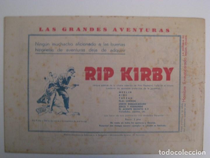 Comics: HISPANO AMERICANA - EL HOMBRE ENMASCARADO. LOTE DE 82 EJEMPLARES (GRAN FORMATO). AÑO 1941 - Foto 15 - 121658267