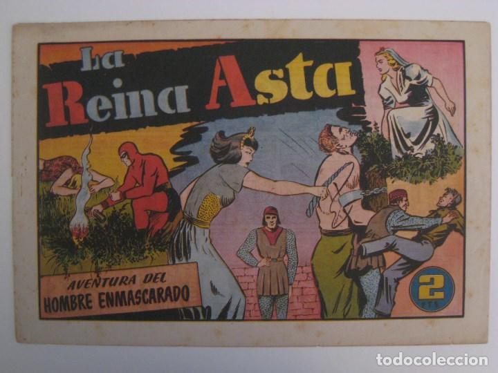 Comics: HISPANO AMERICANA - EL HOMBRE ENMASCARADO. LOTE DE 82 EJEMPLARES (GRAN FORMATO). AÑO 1941 - Foto 16 - 121658267