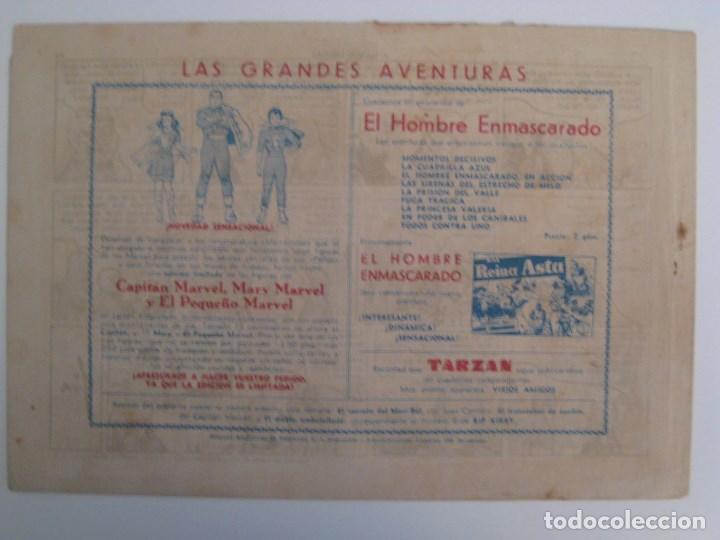 Comics: HISPANO AMERICANA - EL HOMBRE ENMASCARADO. LOTE DE 82 EJEMPLARES (GRAN FORMATO). AÑO 1941 - Foto 17 - 121658267