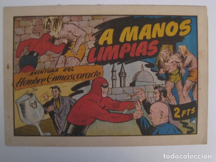 Comics: HISPANO AMERICANA - EL HOMBRE ENMASCARADO. LOTE DE 82 EJEMPLARES (GRAN FORMATO). AÑO 1941 - Foto 18 - 121658267