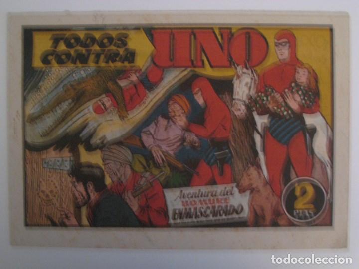 Comics: HISPANO AMERICANA - EL HOMBRE ENMASCARADO. LOTE DE 82 EJEMPLARES (GRAN FORMATO). AÑO 1941 - Foto 20 - 121658267