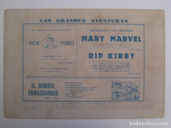 Comics: HISPANO AMERICANA - EL HOMBRE ENMASCARADO. LOTE DE 82 EJEMPLARES (GRAN FORMATO). AÑO 1941 - Foto 21 - 121658267