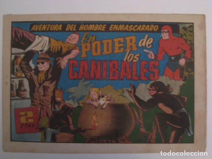 Comics: HISPANO AMERICANA - EL HOMBRE ENMASCARADO. LOTE DE 82 EJEMPLARES (GRAN FORMATO). AÑO 1941 - Foto 22 - 121658267