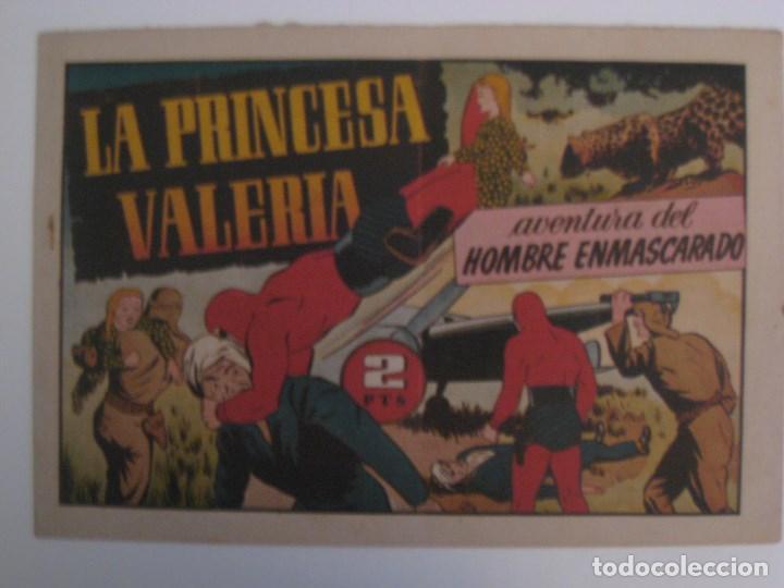 Comics: HISPANO AMERICANA - EL HOMBRE ENMASCARADO. LOTE DE 82 EJEMPLARES (GRAN FORMATO). AÑO 1941 - Foto 24 - 121658267