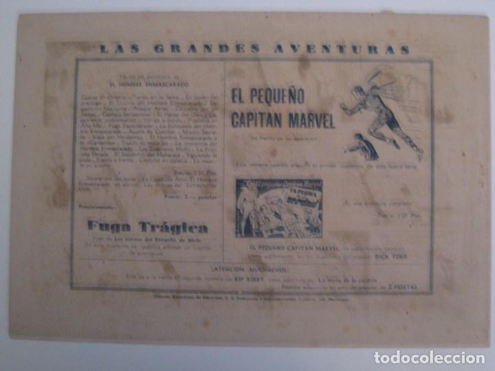 Comics: HISPANO AMERICANA - EL HOMBRE ENMASCARADO. LOTE DE 82 EJEMPLARES (GRAN FORMATO). AÑO 1941 - Foto 25 - 121658267