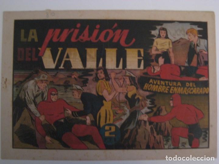 Comics: HISPANO AMERICANA - EL HOMBRE ENMASCARADO. LOTE DE 82 EJEMPLARES (GRAN FORMATO). AÑO 1941 - Foto 26 - 121658267