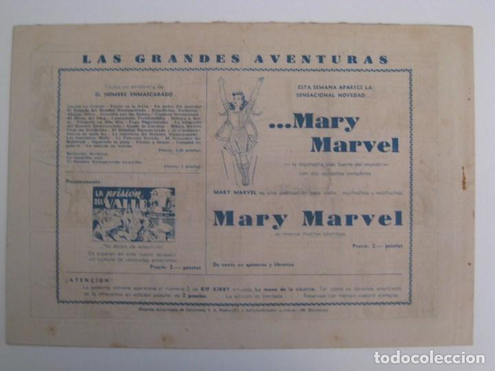 Comics: HISPANO AMERICANA - EL HOMBRE ENMASCARADO. LOTE DE 82 EJEMPLARES (GRAN FORMATO). AÑO 1941 - Foto 27 - 121658267