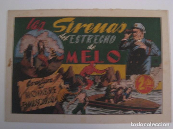 Comics: HISPANO AMERICANA - EL HOMBRE ENMASCARADO. LOTE DE 82 EJEMPLARES (GRAN FORMATO). AÑO 1941 - Foto 28 - 121658267