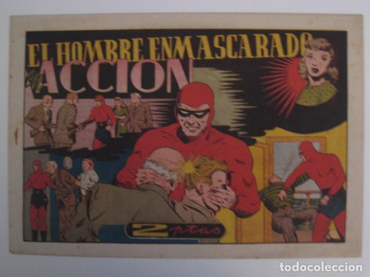Comics: HISPANO AMERICANA - EL HOMBRE ENMASCARADO. LOTE DE 82 EJEMPLARES (GRAN FORMATO). AÑO 1941 - Foto 30 - 121658267