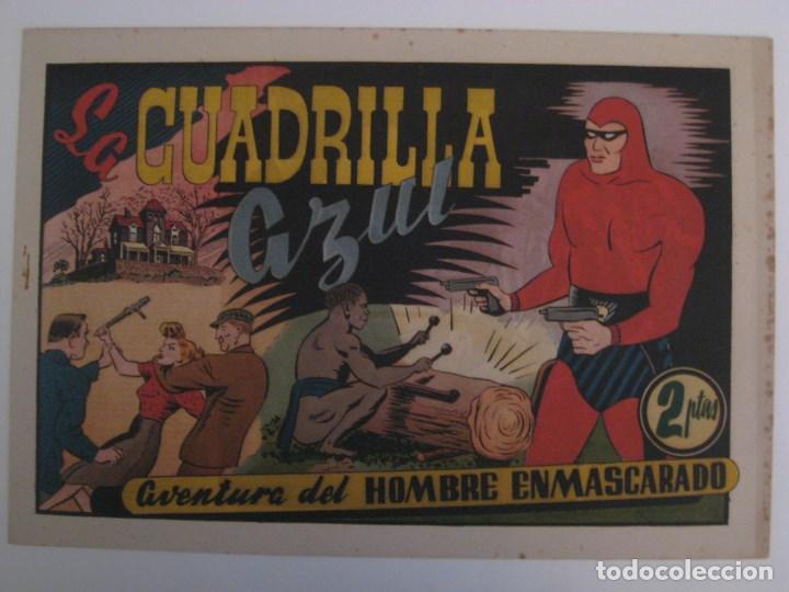 Comics: HISPANO AMERICANA - EL HOMBRE ENMASCARADO. LOTE DE 82 EJEMPLARES (GRAN FORMATO). AÑO 1941 - Foto 32 - 121658267