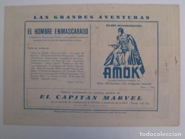 Comics: HISPANO AMERICANA - EL HOMBRE ENMASCARADO. LOTE DE 82 EJEMPLARES (GRAN FORMATO). AÑO 1941 - Foto 33 - 121658267
