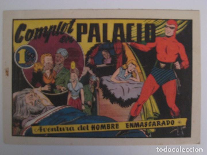 Comics: HISPANO AMERICANA - EL HOMBRE ENMASCARADO. LOTE DE 82 EJEMPLARES (GRAN FORMATO). AÑO 1941 - Foto 34 - 121658267