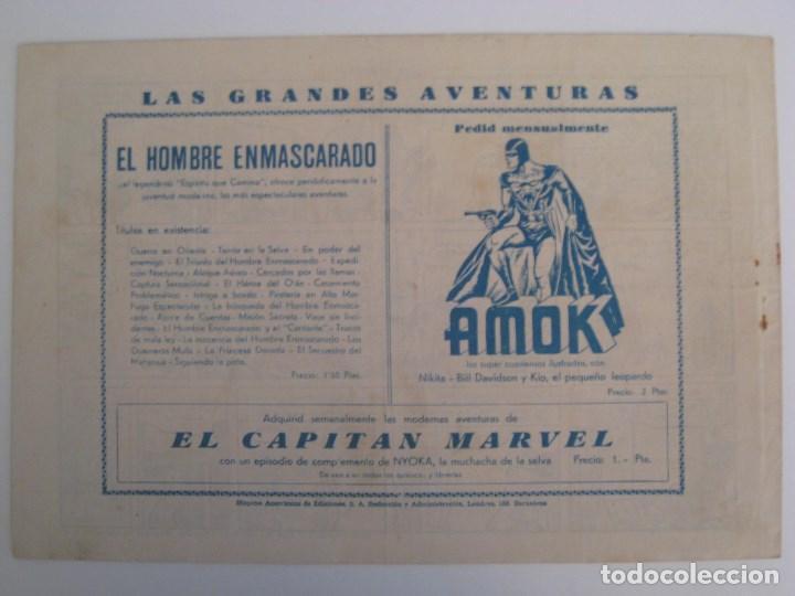Comics: HISPANO AMERICANA - EL HOMBRE ENMASCARADO. LOTE DE 82 EJEMPLARES (GRAN FORMATO). AÑO 1941 - Foto 35 - 121658267