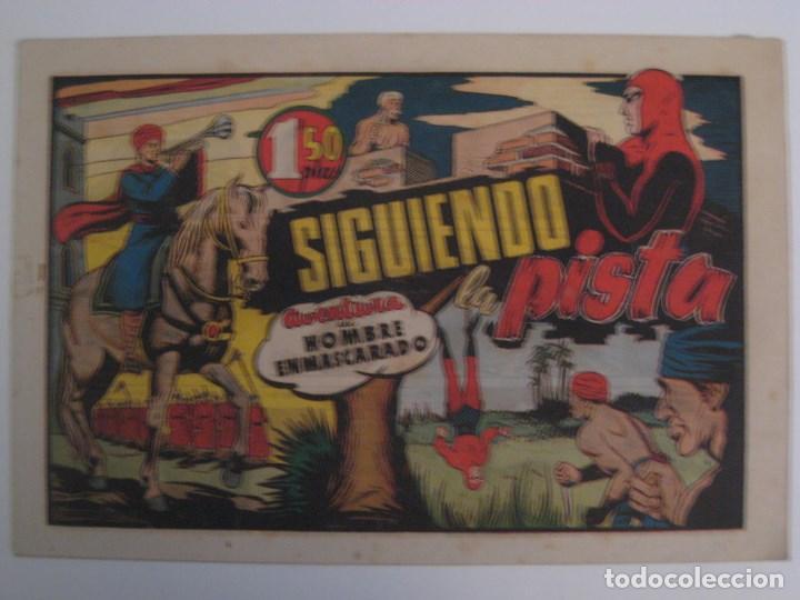 Comics: HISPANO AMERICANA - EL HOMBRE ENMASCARADO. LOTE DE 82 EJEMPLARES (GRAN FORMATO). AÑO 1941 - Foto 38 - 121658267